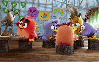 Angry Birds The Movie, 3D birds