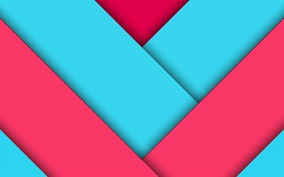 pink blue abstraction, material, rectangles, colorful line