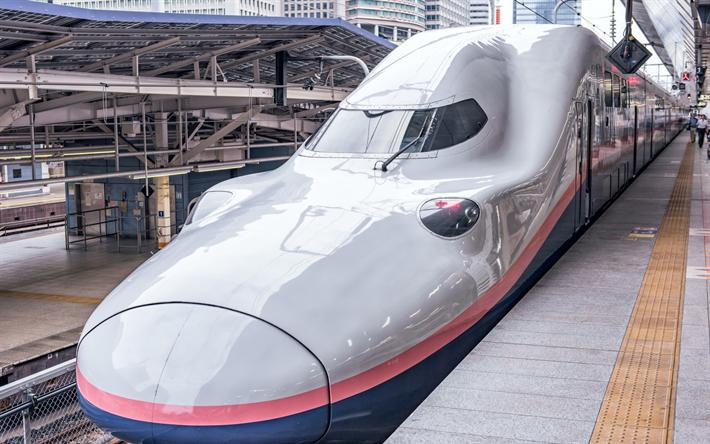 Descargar fondos de pantalla japonés tren, E4 Serie de