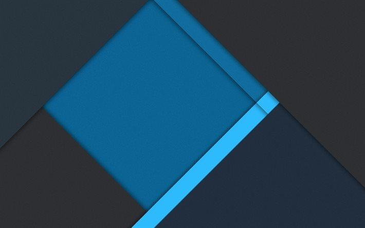 Descargar Fondos De Pantalla Líneas, Rayas, Gris, Azul