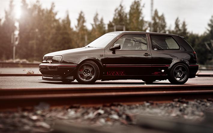 Descargar fondos de pantalla Volkswagen Golf MK3, VW Golf ...
