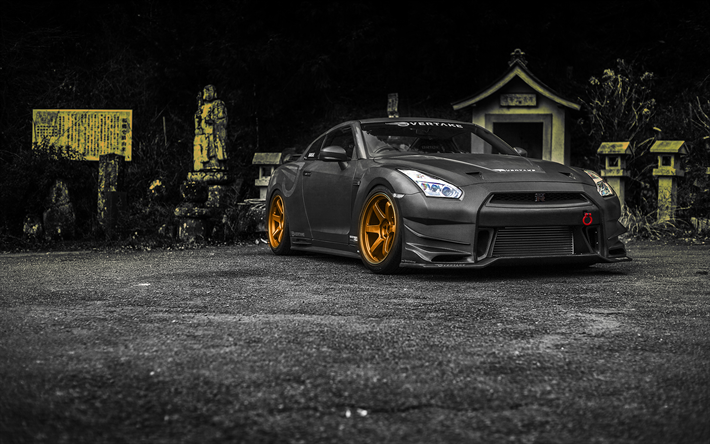 Nissan GT R, R35, Tuning, Supercars, Carbon GT R,