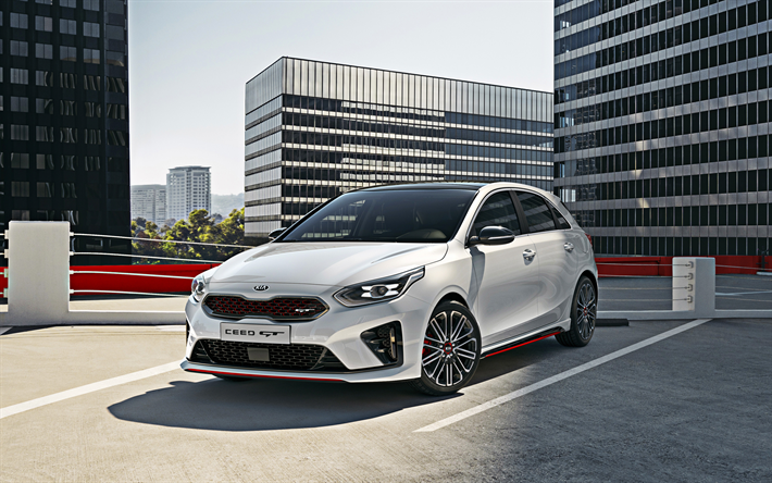 Download Wallpapers Kia Ceed Gt 2019 Sports Version Front