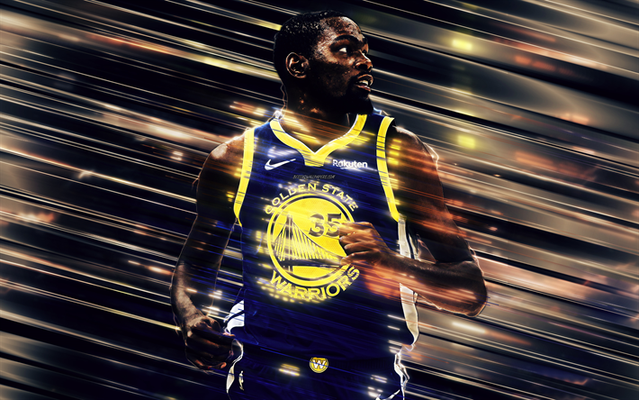 Download Wallpapers Kevin Durant Golden State Warriors American