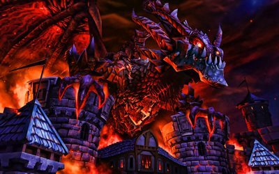 Deathwing, 2019年のゲーム, World of Warcraft, 武士, Deathwing WoW, 作品, モンスター, WoW
