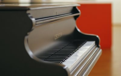 piano, music concepts, piano keys, black piano, musical instruments