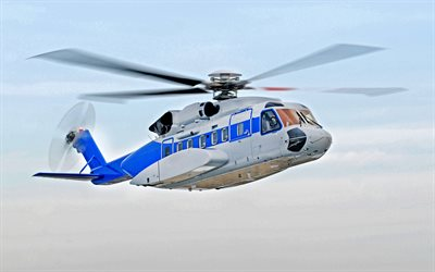 Sikorsky S-92, American transport helicopter, 4k, new helicopters, Tata Sikorsky JV