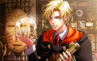 Noel Valmore, manga, anime characters, Wand of Fortune