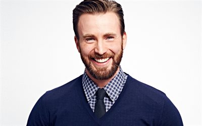 Chris Evans, smile, american actor, portrait, photoshoot, popular actors, Christopher Robert Evans