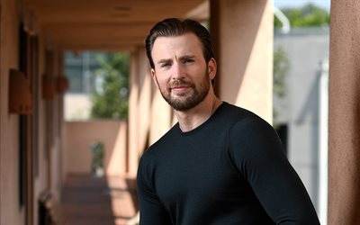 Chris Evans, American Actor, Black Sweater, Photoshoot, Popular Actors, Hollywood Stars
