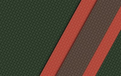 material, geometric lines, retro background, green material, lines