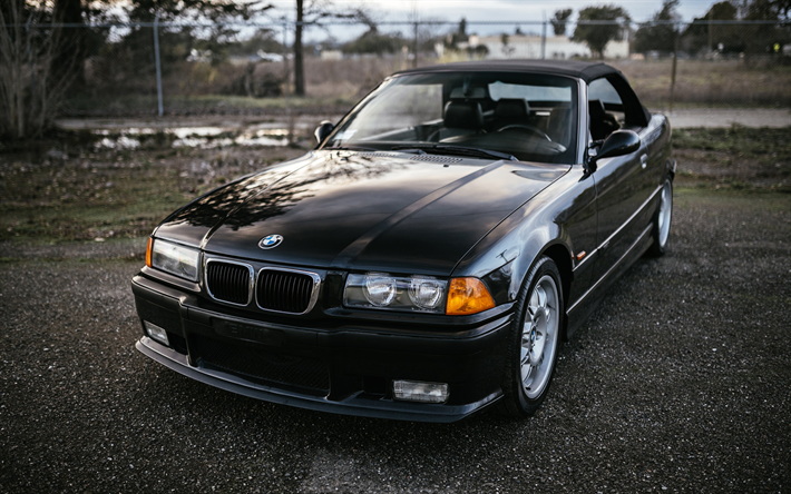 Download Wallpapers Bmw 320i Cabrio E36 German Cars 320i
