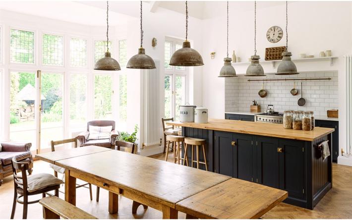 Herunterladen hintergrundbild modern küche interieur-design ...