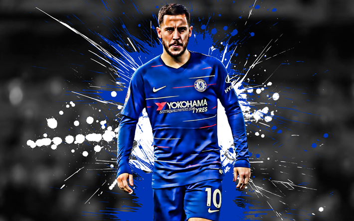 Chelsea Wallpaper Hazard Labzada Wallpaper