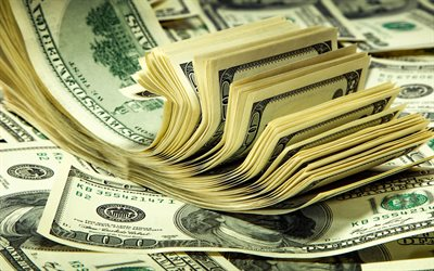 american dollars, bills, money background, finance concepts, dollars, mountain of money
