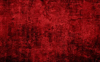 Download wallpapers Red grunge texture creative red