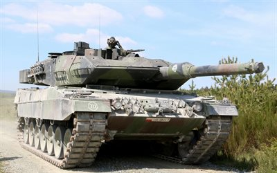 Leopard 2A5, Polish tank, Polish Army, tanks, modern armored vehicles, Leopard 2, German tanks