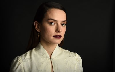 daisy ridley, britische schauspielerin, hollywood-star, fotoshooting, portrait, make-up, daisy jazz isobel ridley