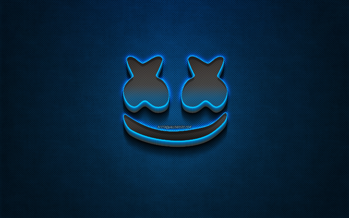 Download Wallpapers Marshmello Logo Blue Metal Background American Dj Christopher Comstock Metal Logo Marshmello Dj Marshmello Djs For Desktop Free Pictures For Desktop Free 36 marshmello logos ranked in order of popularity and relevancy. download wallpapers marshmello logo