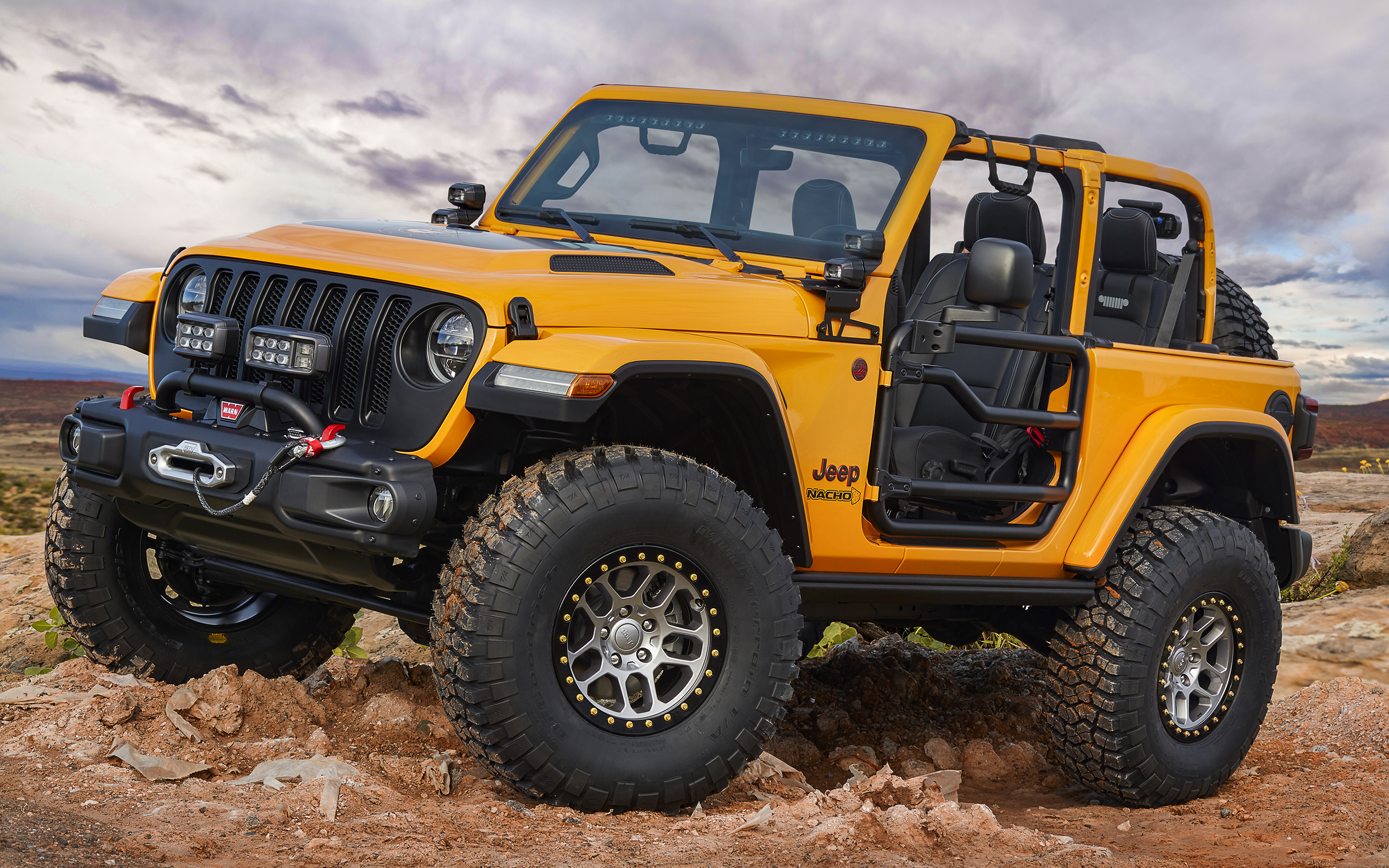 Download wallpapers Jeep Wrangler Nacho Concept, offroad ...