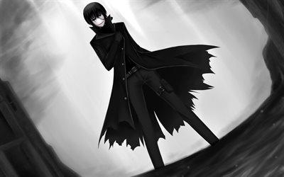 Download Wallpapers Hei Black Reaper Darkness Kuro No Shinigami Darker Than Black Bk 201 For Desktop Free Pictures For Desktop Free