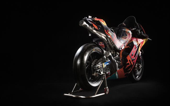 KTM RC16, 4k, superbikes, 2018 bikes, KTM AG, sportsbikes, KTM