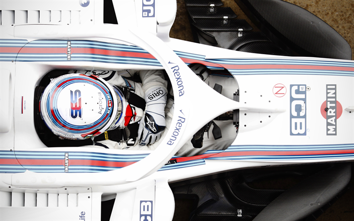 Download Wallpapers Sergey Sirotkin, 4k, Formula 1, 2018
