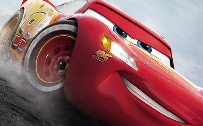 Cars 3, 2017, Lightning McQueen, New cartoons
