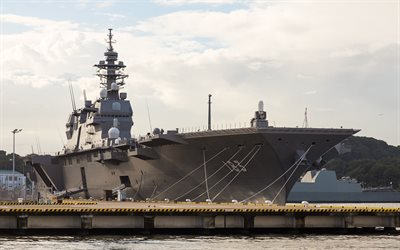 helicopter carrier, JS Izumo, DDH-183, Japanese warships, Navy of Japan, lead ship, Izumo class
