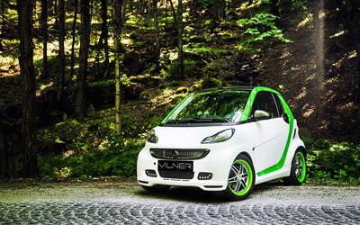Vilner, tuning, 2017 cars, Smart ForTwo Brabus, small cars