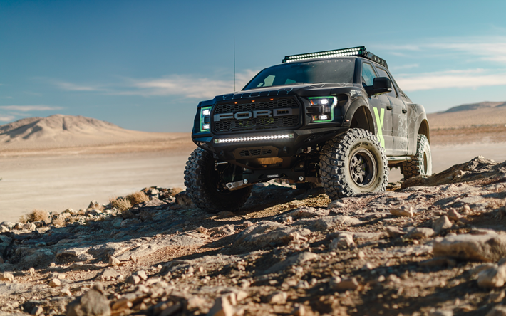 Download wallpapers Ford Raptor F-150, 2018, Xbox One X