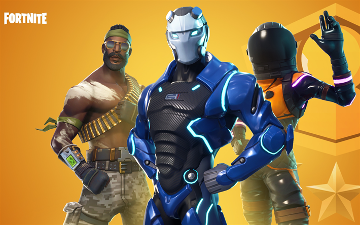 Download wallpapers Dark Vanguard, Bandolier, Fortnite ...