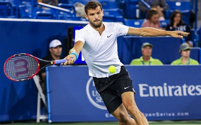 Grigor Dimitrov, tennis, Bulgarian tennis player, ATP, tennis stars, talent