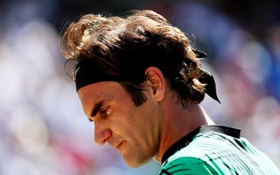 Roger Federer, ATP, Tennis, portrait, tennis stars, Association of Tennis Professionals