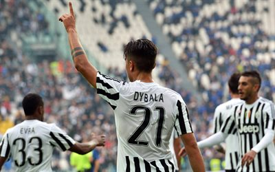Juventus, Paulo Dybala, football stars, Serie A, Juve, soccer, footballers