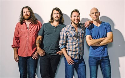 Eli Young Band, Musical group, Mike Eli, James Young, Jon Jones, Chris Thompson