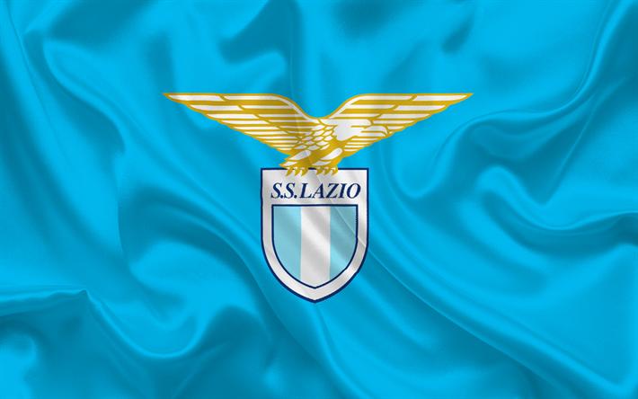 download wallpapers lazio rome football club emblem