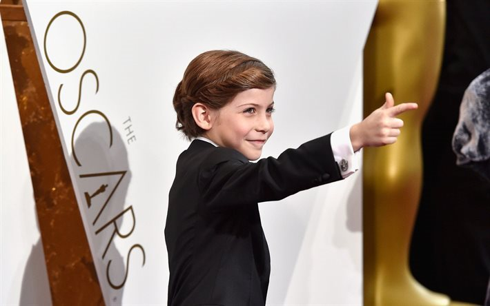 jacob tremblay, ceremony, young actor, oscar 2016, celebrity