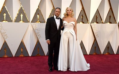 singer, lady gaga, ladygaga, oscar 2016, red carpet, ceremony, designer, actress
