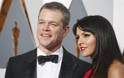 tuxedo, writer, designer, oscar 2016, matt damon, actor, luciana barroso, celebrity