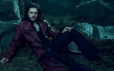 kit harington, theatre, 2016, actor, luomo vogue, photoshoot, movie