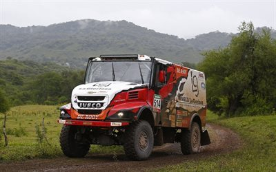 4x4, evolution 2, roads, powerstar, truck, iveco, semi tractor, 2016, federico villagra, rally