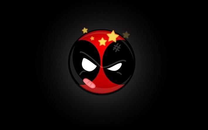 Fondos De Pantalla De Deadpool: Descargar Fondos De Pantalla Negro, Deadpool, Fondos De