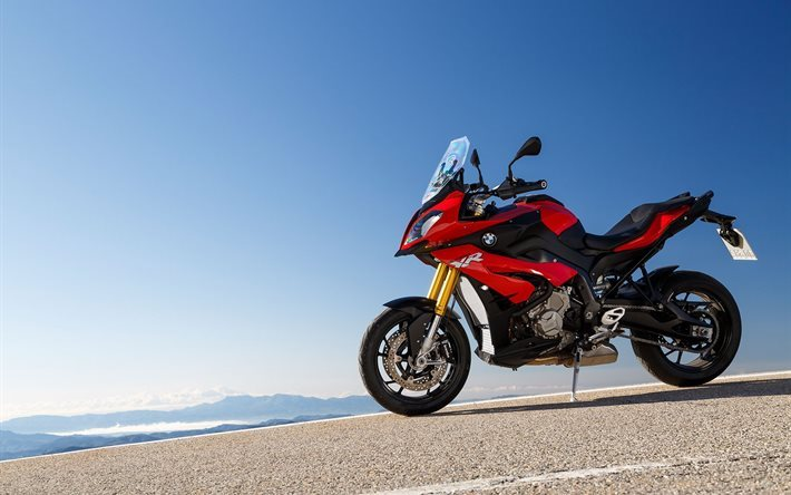 2016, motorcycle, bmw, red, s1000xr