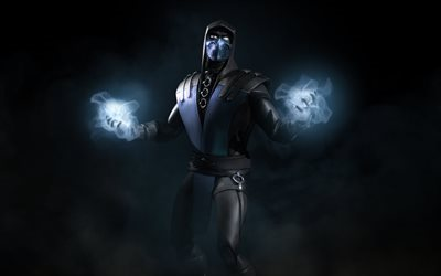 cryomancer, game, sub zero, blue steel, fighter, character, fighting game
