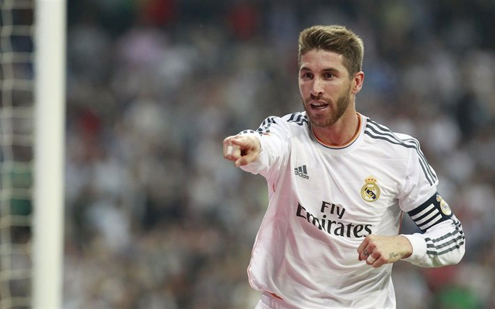 player, real madrid, spain, sergio ramos, captain