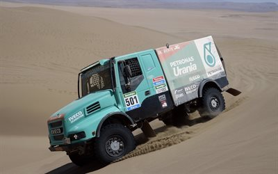 2015, iveco, semi tractor, sands, powerstar, evolution 2, truck, 4x4, dakar, offroad, rally
