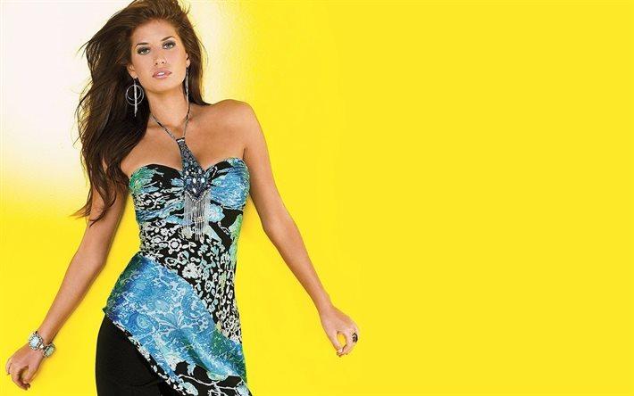 Hintergrundbilder Kostenlos Frauen herunterladen hintergrundbild brünette mädchen modell gelb