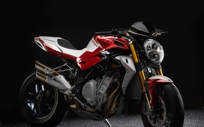 mv agusta, brutale, 2016, corsa, red, bike