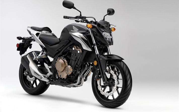 Honda Cb500f 2016 Black Bike